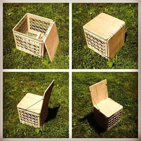 Milk Crate Furniture by 25 Best Ideas About Milk Crate Chairs On Milk