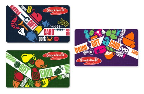 grocery gift card jennie by design - Strack And Van Til Gift Card