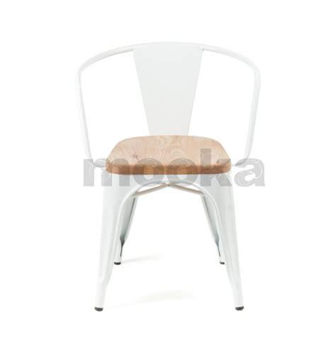marais armchair tolix marais armchair wood seat mooka modern furniture
