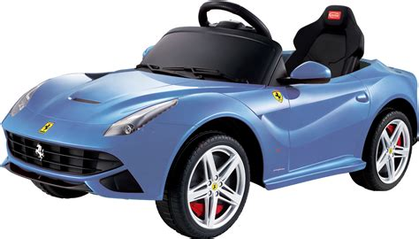 children cars f12 berlinetta 6v electric children s battery powered licensed ride on car with