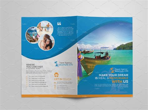 travel agency brochure template 23 travel brochure templates free premium