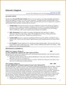 Ceo Personal Assistant Sle Resume by Executive Assistant Resume Ilivearticles Info