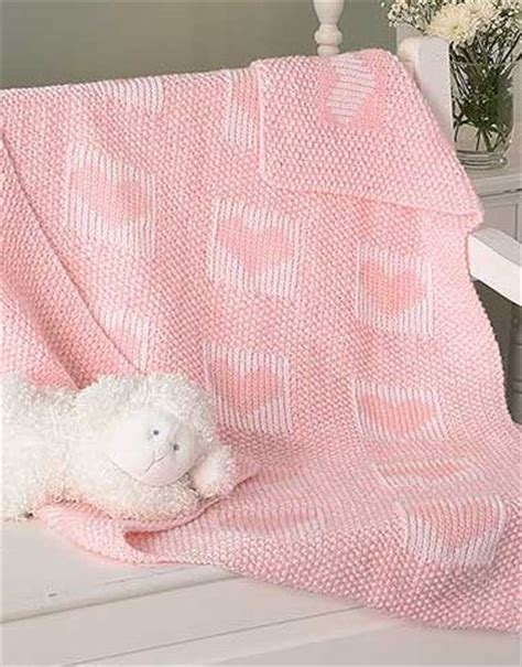 heart pattern baby blanket heart knitting patterns in the loop knitting