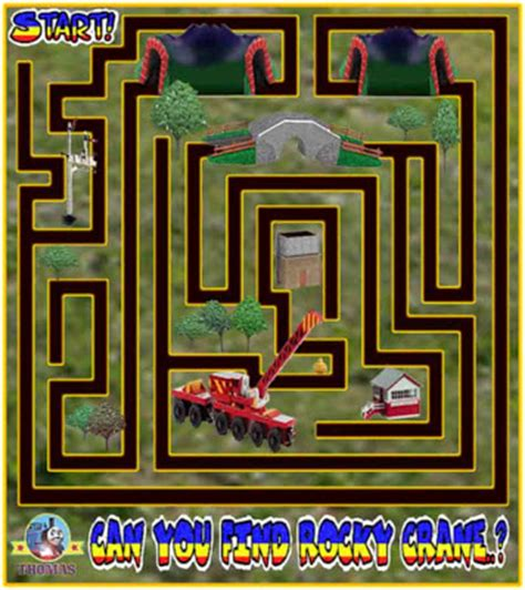 printable games online july 2010 train thomas the tank engine friends free