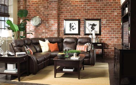 decorating with dark brown leather sofa single brown leather couch combined with l shaped gray