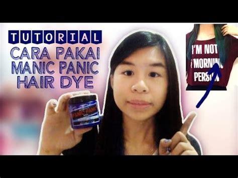 Harga Cara Pakai Hair Removal by Tutorial Cara Pakai Manic Panic Hair Dye Tips