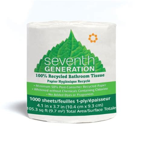 toilet paper scroll game seventh generation bathroom tissue single ply 1000 sheets