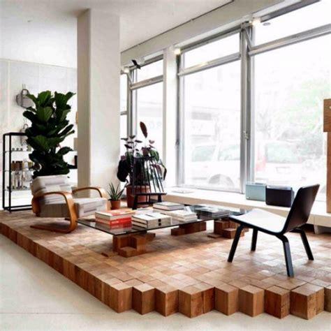 living room platform raised wooden platform of me