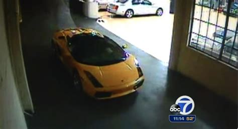Fieri Lamborghini Stolen Image Thief Of Fieri S Stolen Lamborghini On