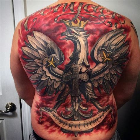 polish eagle tattoo designs 60 eagle designs for coat of arms ink