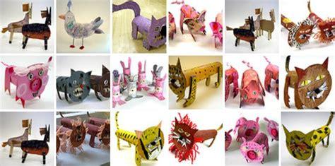 manualidades hechas con carton de animales animales con tubos de cart 243 n manualidades infantiles