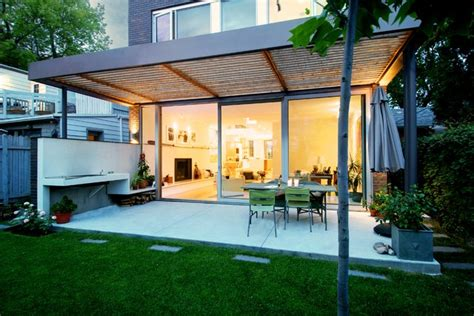 covered outdoor patio modern patio toronto by