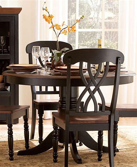 ohana black dining table from homelegance 1393bk 48