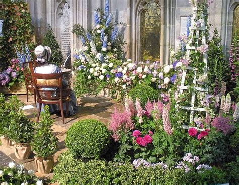 beautiful country flower garden flower gardens in the