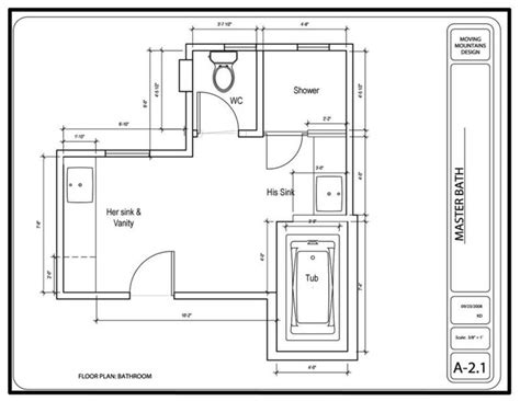 How To Design A Bathroom Floor Plan by Master Bathroom Design Project The Design