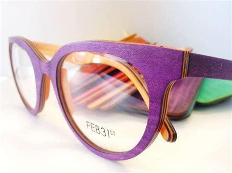 handcrafted wood feb31st eyewear now available at