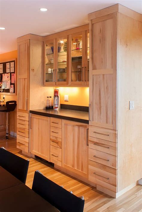 17 best ideas about birch cabinets on light