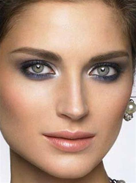 imagenes ojos grises maquillaje en color gris