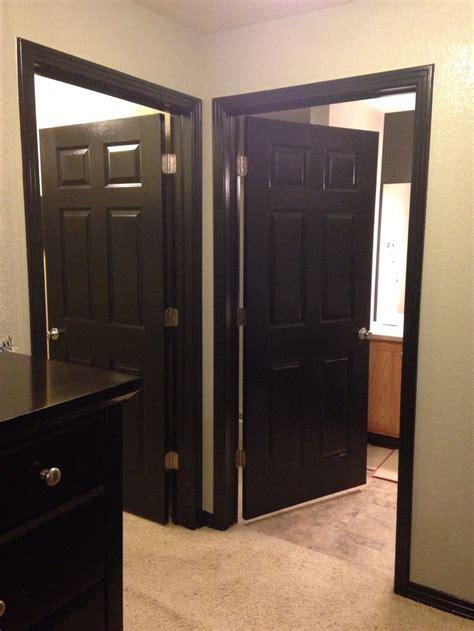 door trim living room pinterest door trims doors black doors and trim i d love this in my house