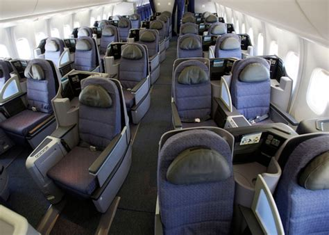 united airlines comfort class united airlines begins flying the first of its