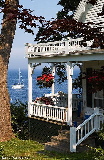 seaside cottage bayside maine coastal living pinterest
