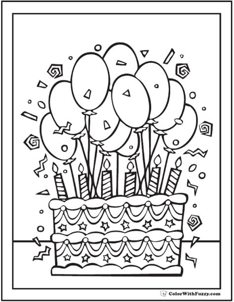 cake coloring pages pdf pdf coloring sheets 28 birthday cake coloring pages