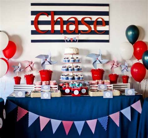 Birthday Decoration Ideas For Boy by Nautical Themed Boy S Birthday From 17 Birthday Ideas For Boys You Will