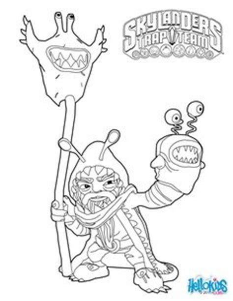 coloring page food fight skylanders skylanders trap team coloring pages food fight