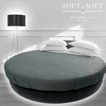 da letto con letto rotondo completo letto per letto rotondo in cotone completo