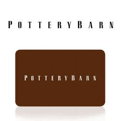 Pottery Barn Gift Card - buy pottery barn gift cards at giftcertificates com