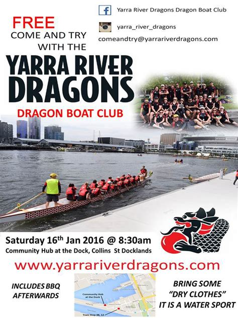 dragon boat docklands free come try dragonboating in docklands bbq
