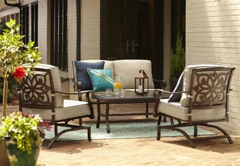 shop allen roth ebervale aged shop the ebervale patio collection on lowes