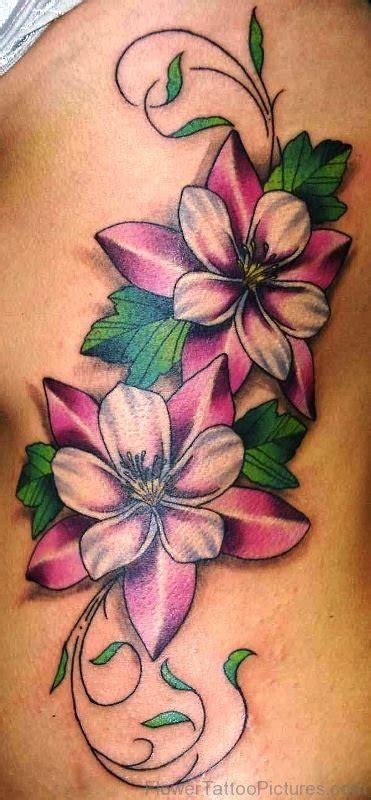 columbine flower tattoo 32 best columbine flower tattoos