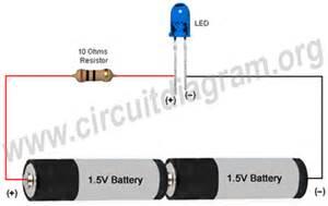 led light simple circuit diagram led free engine image for user manual