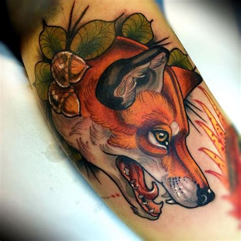 animal tattoo london 318 best tattoos foxes images on pinterest