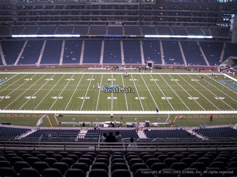 what are club seats at ford field ford field section 331 detroit lions rateyourseats