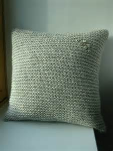 Cushion Cover Knitting Patterns Littletheorem Dunlochay Cushion Cover
