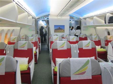 Avianca Interior Review Ethiopian Airlines Business Class 787 Beijing To