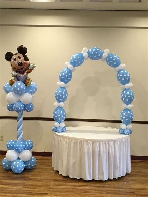 Baby Shower Decorations Mickey Mouse by 25 Best Ideas About Mickey Mouse Balloons On Mickey Mouse Decorations