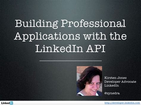 Linkedin Search By Email Api Creating Professional Applications With The Linkedin Api
