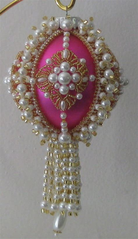 beaded ornaments patterns free beaded ornaments beaded ornament covers and ornaments on