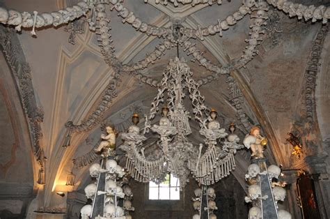 Bone Chandelier Kutna Hora Republic St Barbora And A Bone Churchjeremy