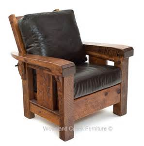 Rustic Lounge Chair Mission Chair Ranch Chair Cabin Lodge » Ideas Home Design