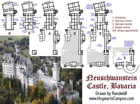 Famous Castle Floor Plans | famous building blueprints detailed floor plans of