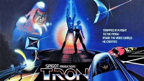 classic movies wallpaper hd tron movie poster wallpaper
