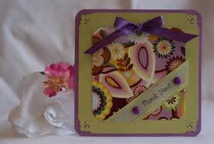 thank you card ideas simple or elaborate with variety of trims