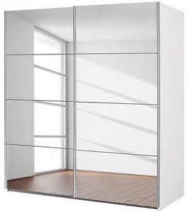 armoire 2 portes avec miroir coulissantes balto