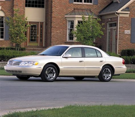 small engine maintenance and repair 1999 lincoln continental transmission control 1998 lincoln continental image 8