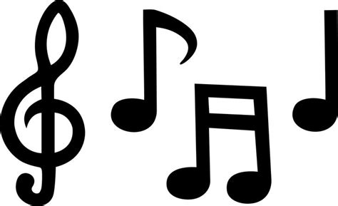 music notes template clipart best