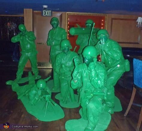 green army men group halloween costumes original diy